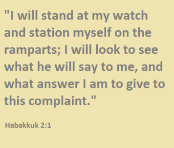 Habakkuk 2.1